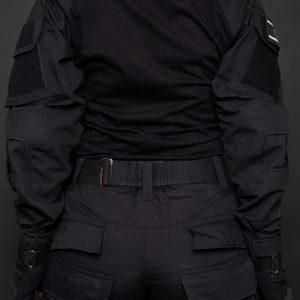 חולצה טקטית שחורה